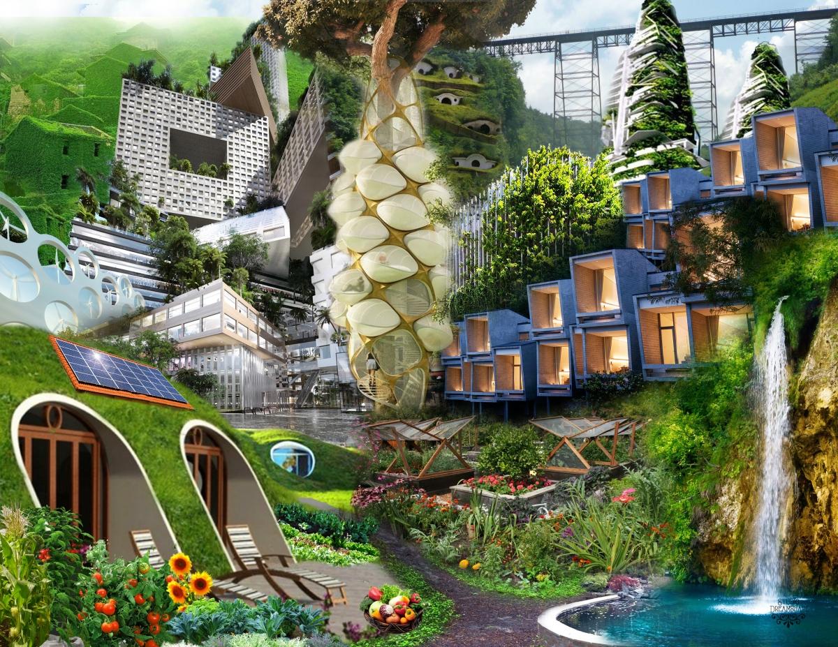 Solar For America >> Solarpunk Futurescapes – Studio Dreamshare